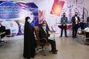 ویدئو | حضور تاجزاده با همسرش فخری محتشمیپور در ستاد انتخابات
