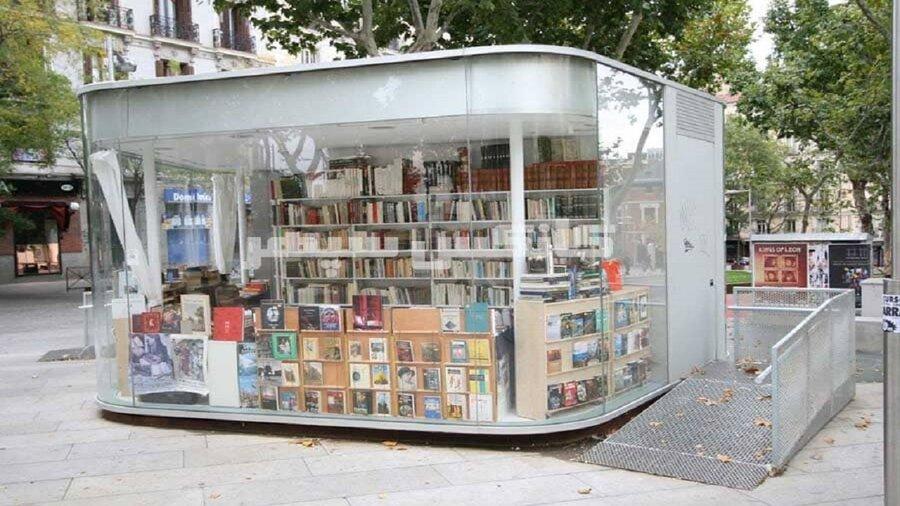 کانکس کتابخانه