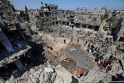 عکس روز| پس از بمباران