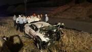 سقوط مرگبار خودرو در بزرگراه بابایی- یاسینی | ۵ نفر کشته شدند