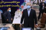 ویدئو | لحظه ثبتنام علی لاریجانی در انتخابات  | ۱۴۰۰