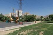 آمادهسازی بوستان یاس برای حضور شهروندان