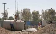 افتتاح ۲ پروژه مدیریت سیلاب در ۲ منطقه غرب تهران