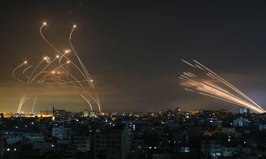 عکس روز| موشکهای غزه