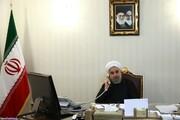 روحانی: ضرورت استفاده از همه ظرفیتها برای مقابله با جنایات صهیونیستها | ایران با حسن نیت زمینه احیای برجام را فراهم کرده است