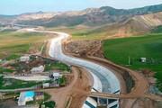 پیشرفت شبکه آبیاری سد خدآفرین