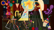 دوبی پس از ۵۷ سال میزبان نقاشی ۸۴ ساله کاندینسکی شد