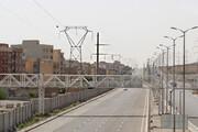 تکمیل پل عابر پیاده محدوده خیابان شهید سلیمی از سر گرفته شد