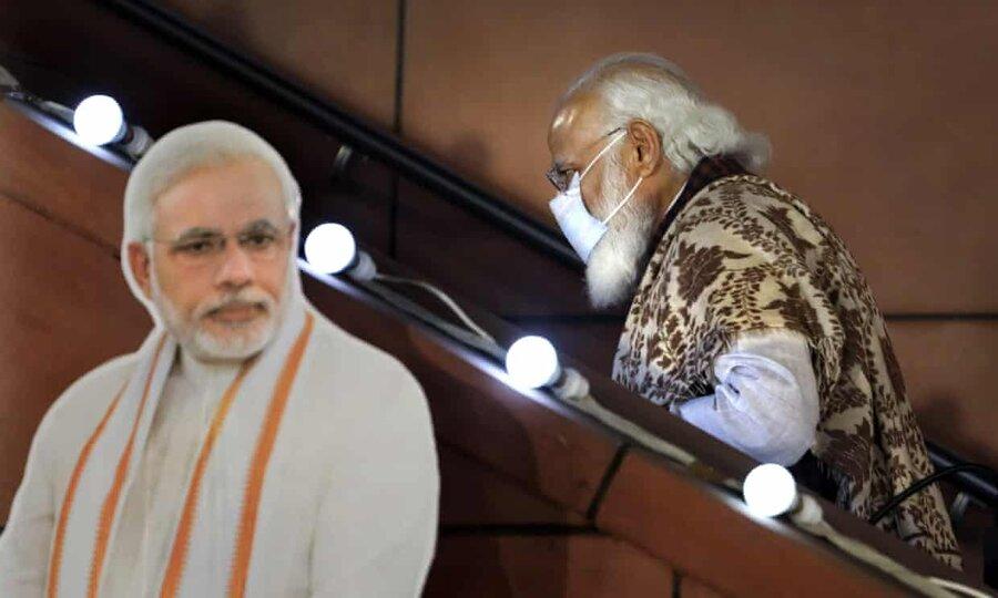 خشم هندیها از نخستوزیر محبوب   اعتراض خلاقانه در دهلی: مودی گم شده است!