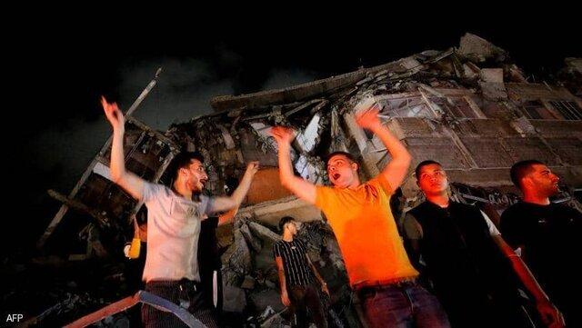 جشن پیروزی مقاومت در فلسطین