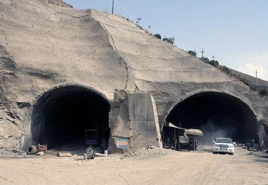 پیدا شدن دومین جسد حادثه ریزش تونل جاده کرج به چالوس