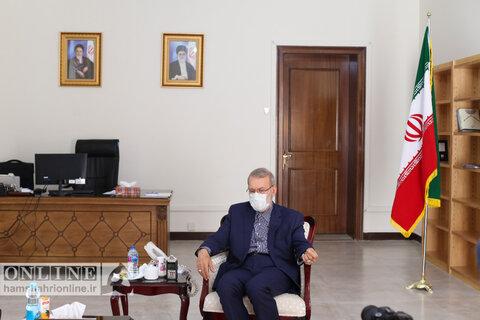 پیام لاریجانی به رئیسی