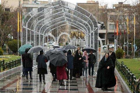 بارش باران در ۱۱ استان طی ۲ روز آینده | احتمال بارش باران شبانه در تهران