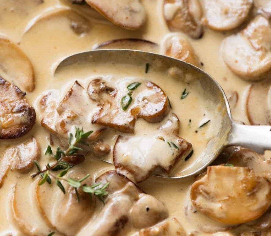 طرز تهیه سس قارچ | یک چاشنی خوشمزه برای همبرگر و پاستا