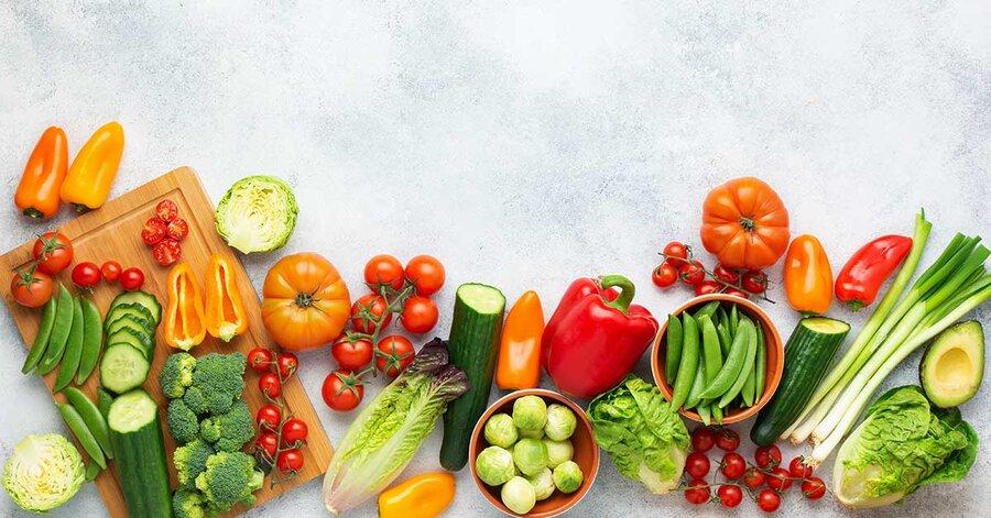 vegetables - سبزیجات - میوه - تغذیه