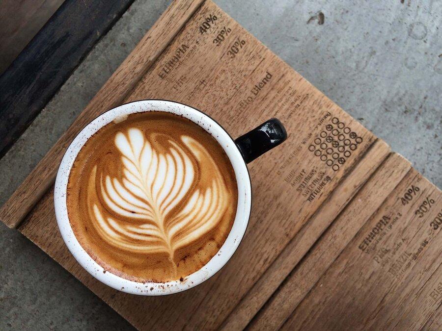 latte art - لته آرت - طراحی قهوه