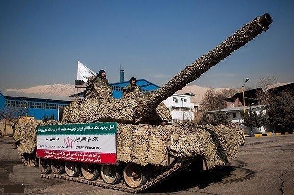 تانک ایرانی  ذوالفقار