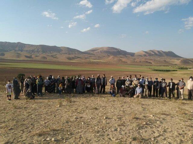 اعتراض اهالی روستای بلوبند استان مرکزی به معدن کاوی