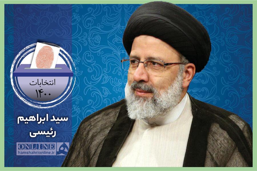انتخابات 1400 - ابراهیم رئیسی