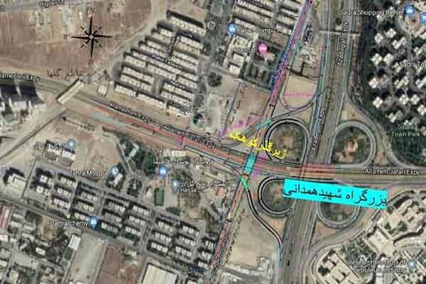 تقاطع بزرگراه شهید همدانی