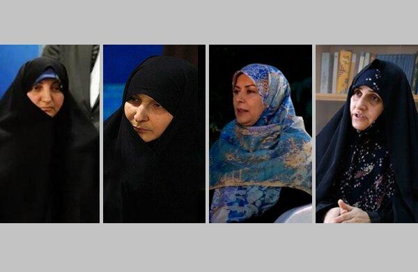 همسران کاندیداها