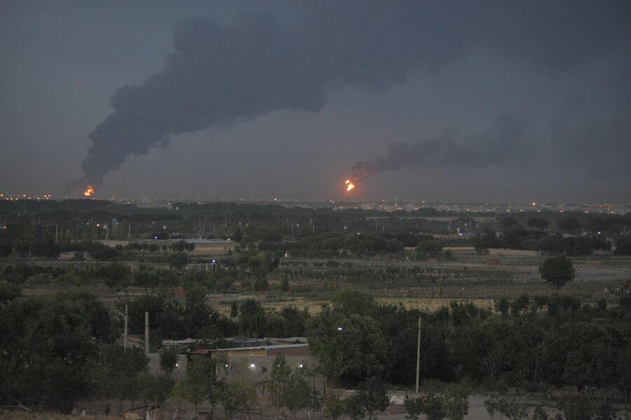 جزئیات جدید از آتش سوزی در پالایشگاه تهران