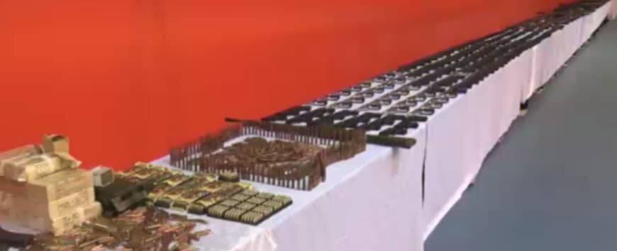 تصاویر | ضربه مهلک وزارت اطلاعات به باند بزرگ قاچاق مواد مخدر و سلاح و مهمات
