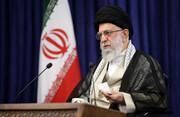 عکس | شعار جالب آیتالله خامنهای در انتخابات ریاست جمهوری ۱۳۶۰