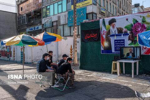 حال و هوای شهر در هنگام پخش اولین مناظره انتخابات ریاست جمهوری