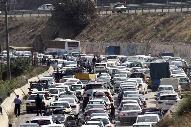 سفرهای جادهای در روزهای ممنوعه برقرار بود | ترافیک در محورهای مواصلاتی