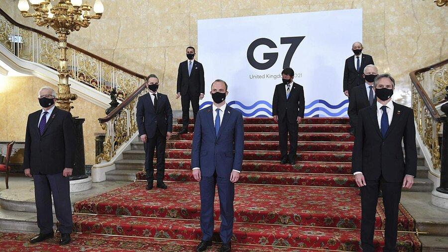 نشست گروه جی7