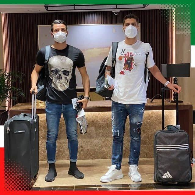 عکس | بازیکنان جدید تیم ملی به بحرین رسیدند