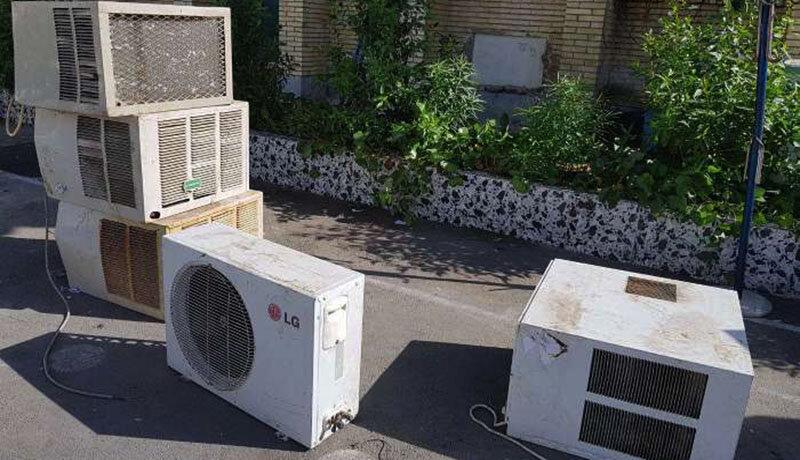 قطعی برق افزایش مییابد؟   جاماندگی وزارت نیرو در طرح تعویض کولرهای فرسوده