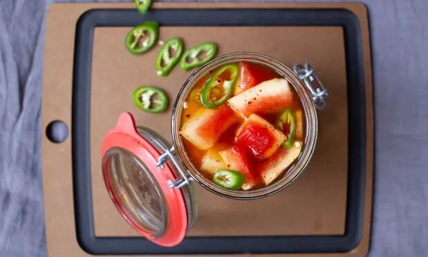 ترشی پوست هندوانه - pickle