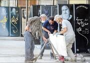 رونق بازار سنگ قبرفروشها در دوران کرونا | صاحب عزاها سنگ قبر قسطی میخواهند