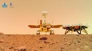 ۴ تصویر جالب سفینه چینی از مریخ