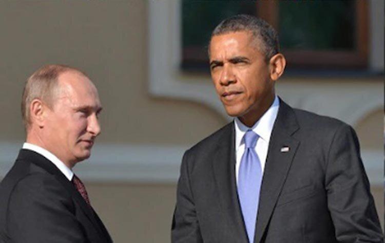 تصاویر | عکسهای مشترک پوتین با چهار رئیس جمهوری پیشین آمریکا