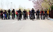 مانعی برای دوچرخهسواری بانوان در مشهد وجود ندارد
