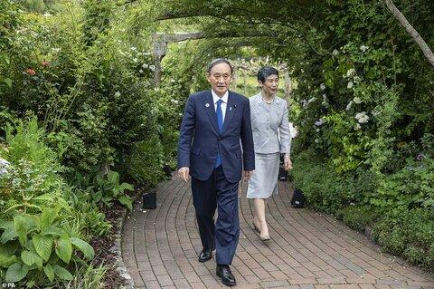 ماریکو سوگا همسر نخستوزیر ژاپن، یوشیهیده سوگا