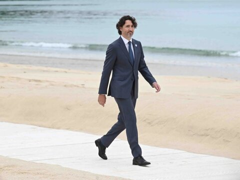 جاستین ترودو  نخست وزیر کانادا تنها در این اجلاس حاضر شد.