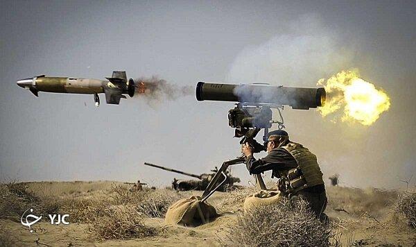 تصاویر | موشکهای ایرانی نابودگر تانکهای مرکاوا و آبرامز آمریکایی | انواع موشکهای ضد تانک ایرانی، از تولید به مصرف