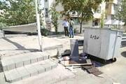 مخازن نو برای زباله به محلههای منطقه ۴ میآید