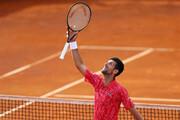 عکس | واکنش جالب مرد شماره یک تنیس جهان به حرفهای پسربچه تماشاگر