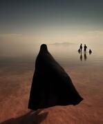 عکس دریاچه ارومیه برنده جایزه بین المللی در ایتالیا شد
