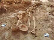 کشف گورستان باستانی در یک کاخ