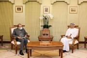 رایزنی مشاور ارشد وزیر خارجه با وزیر خارجه عمان