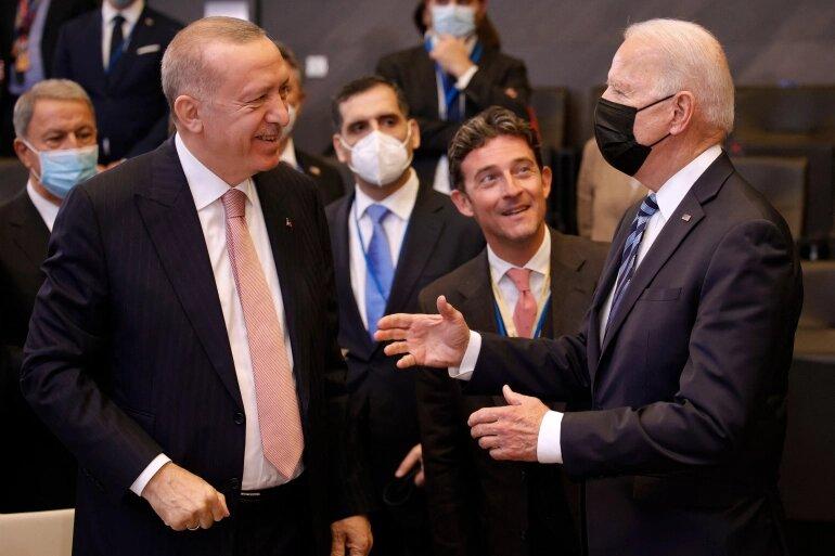 اردوغان بایدن