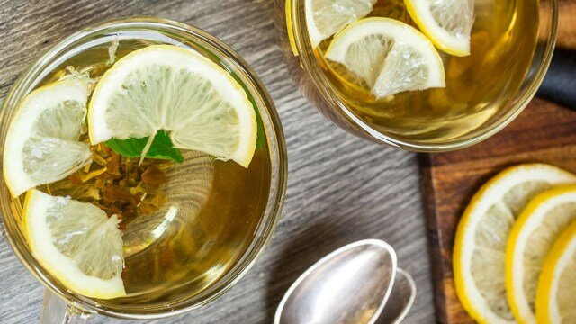 Green Tea with Lemon - چای سبز - لیموترش