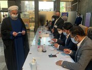 ویدئو | لحظه رای دادن حسن روحانیدر ستاد انتخابات کشور