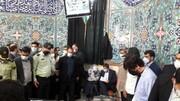 ویدئو | همتی با همراهی همسرش در حسینیه ارشاد  در انتخابات شرکت کردند